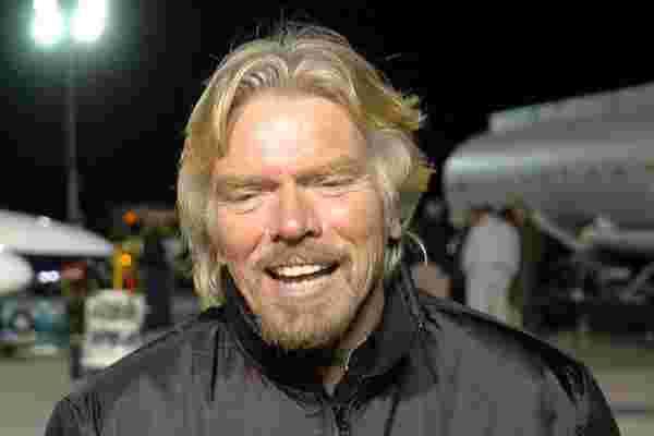 """世界需要更多的理查德·布兰森 (Richard Branson) 的 """"hubris"""""""