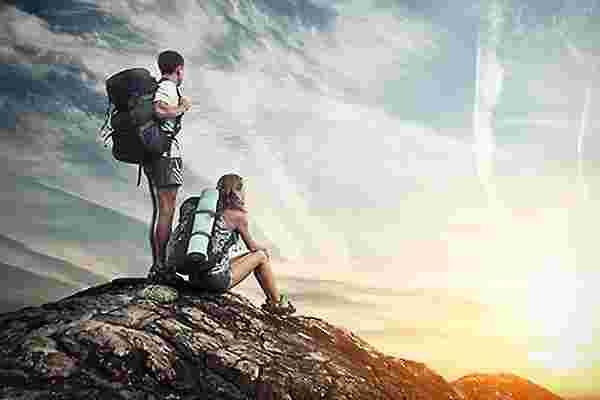 攀登一座山,无论是真实的还是象征性的,都需要经过计算的风险